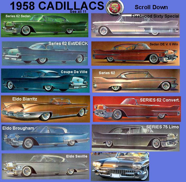 1958 SPECS/INFO